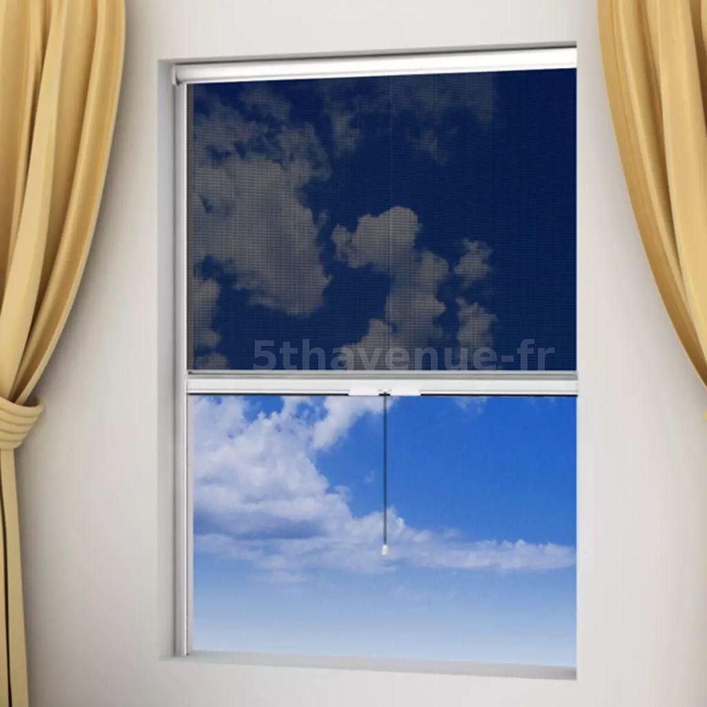 Moustiquaire Enroulable Blanche Pour Fenêtre 80 X 170 Cm E9i1 Ebay